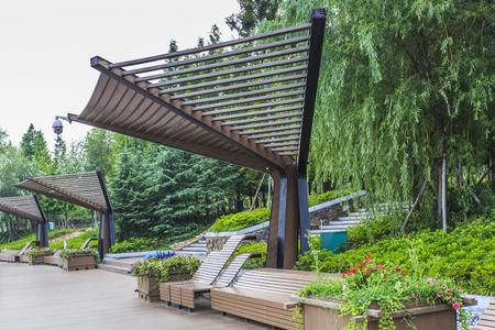 path cottage garden: Landscape Stock Photo