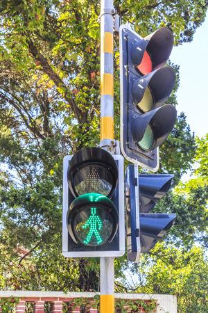 warning lights: Signal lights Stock Photo