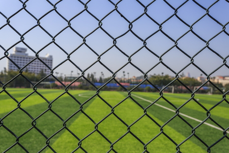 barbed wire: Stadium of barbed wire
