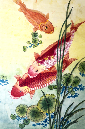 The traditional Chinese painting Standard-Bild