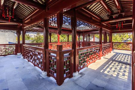 chinese garden: The Chinese architectural garden