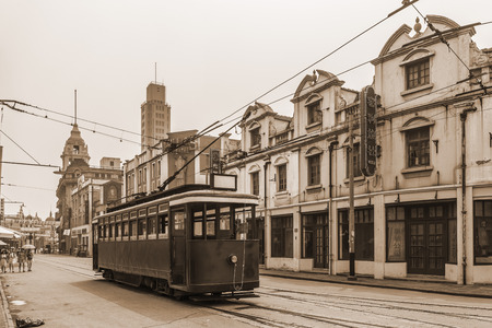 Shanghai alte Straße