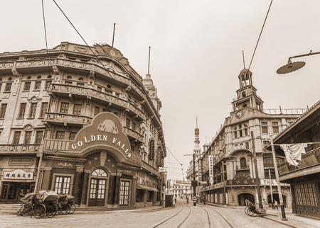 Shanghai old street 新聞圖片