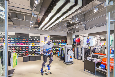 clothing store: Sporting goods stores