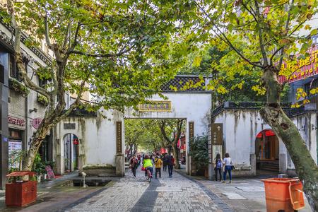 old street: Old street in Hangzhou Editorial