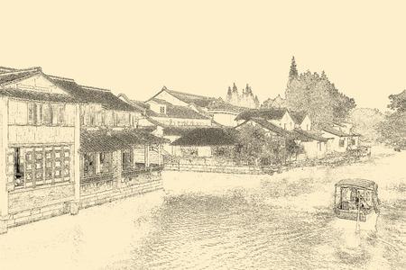 china town: China town Stock Photo
