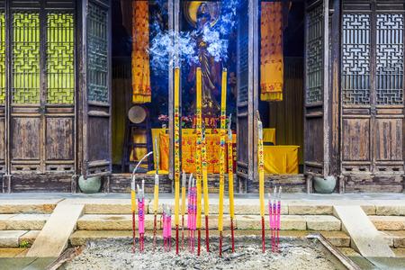 incienso: Templo quemar incienso