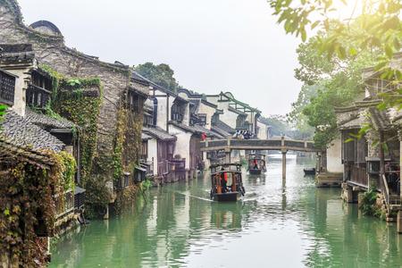 Alte Stadt von Jiangnan Standard-Bild - 50770576