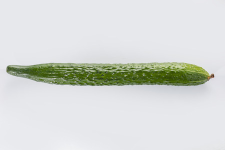 english cucumber: cucumber Stock Photo