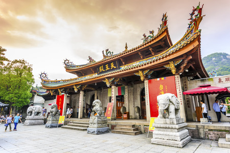 Xiamen Süd-Putuo-Tempel Standard-Bild - 60283449