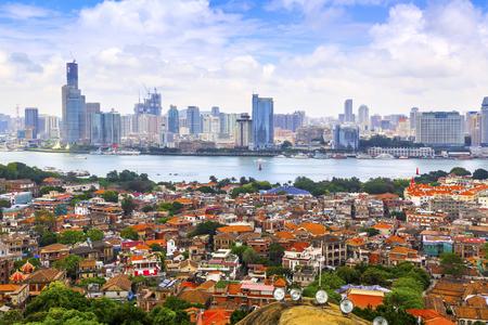 Xiamen city scenery Editorial