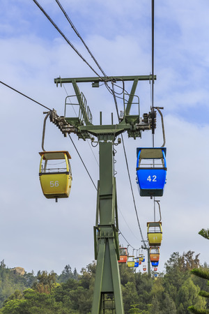 cable car: Cable car Stock Photo