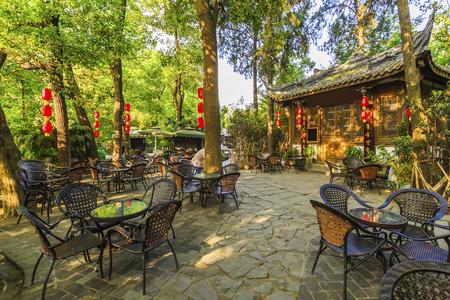 tea house: Chengdu old tea house
