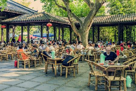 chengdu: Chengdu old tea house