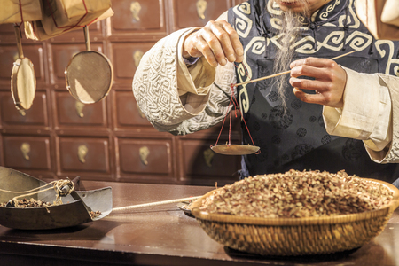 Traditional Chinese medicine store