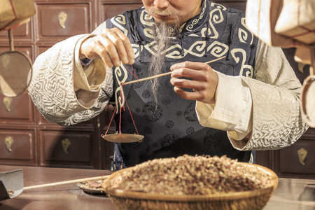 eastern medicine treatment: Traditional Chinese medicine store