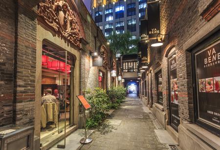shanghai street view Editorial