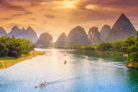 Guilin Scenery Standard-Bild