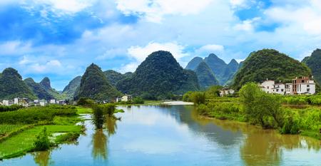 river county: Landscape scenery