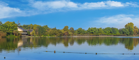 West Lake Hangzhou landscape Editorial