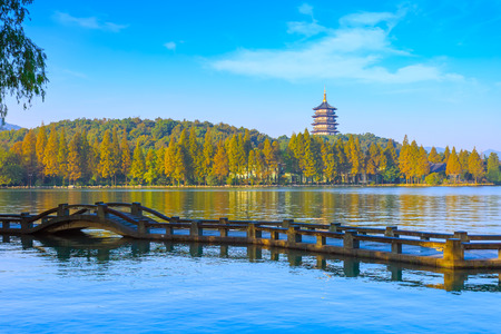 Hangzhou West Lake pagoda
