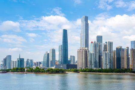 Guangzhou Pearl River scenery Standard-Bild