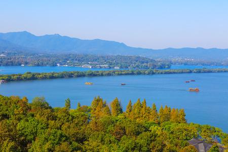 Beautiful West Lake scenery
