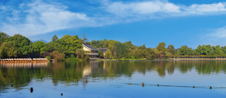 West Lake scenery Editorial