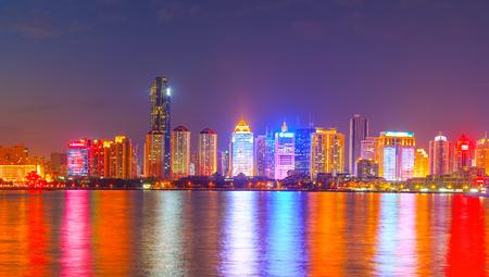 Night view of Qingdao