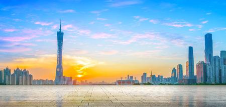 Guangzhou Landschaft Standard-Bild - 71638963