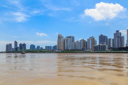Wenzhou city skyline