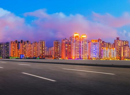 温州市の風景 写真素材