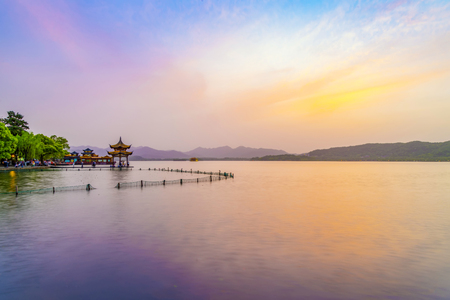 West Lake Hangzhou scenery