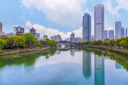 成都錦江の風景 写真素材 - 84781418