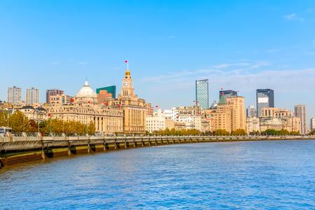 Shanghai Bund Фото со стока
