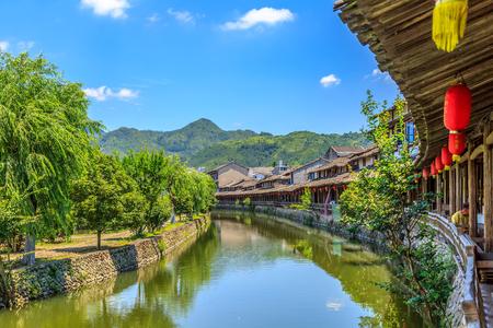 Rock head town, Wenzhou, China