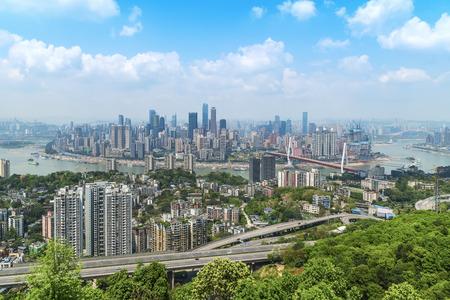 重慶の美しい街の風景