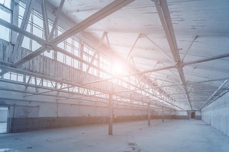 metal structure: Factory workshop