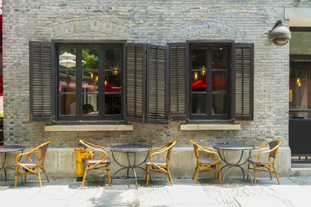 上海 Shikumen 古い建物 写真素材