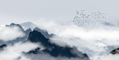 Mount Huangshan scenery