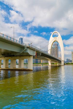 Guangzhou Bridge Stock Photo