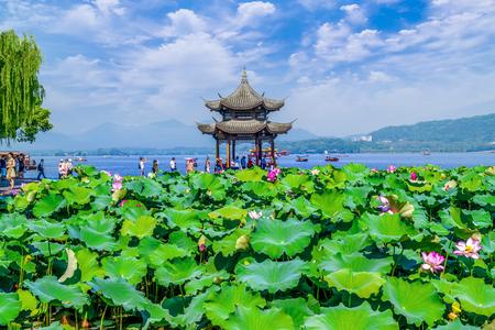 The landscape of West Lake, Hangzhou