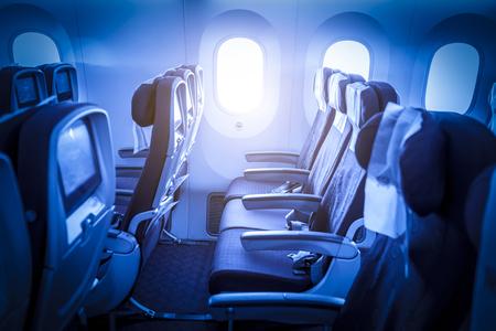 Aircraft cabin interior 報道画像
