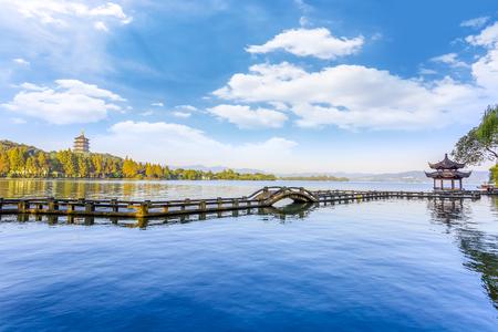 Hangzhou West Lake Standard-Bild