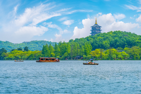 Hangzhou West Lake 写真素材