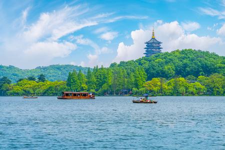 Hangzhou West Lake Foto de archivo