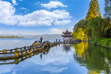 Hangzhou West Lake Stock Photo