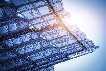 Membrane steel structure