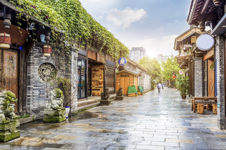 Chengdu Kuan Alley and Zhai Alley