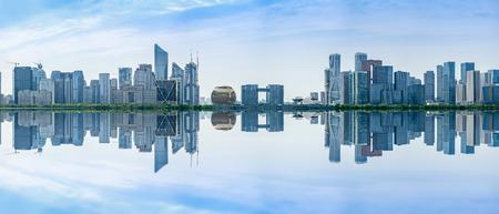 Hangzhou Qianjiang New City 스톡 콘텐츠